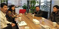 华通国际智慧化工作组赴同步科技调研