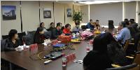 重庆大学建筑城规学院卢峰副院长率团到华通国际考察交流