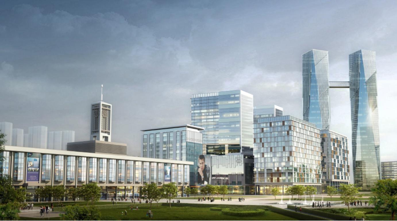 项目名称:石家庄老火车站周边城市设计