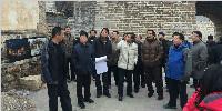 昌平區委區政府領導實地聽取長峪城古村落改造升級方案