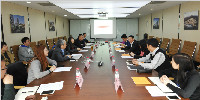 中關村協同發展投資有限公司蒞臨華通國際洽商合作