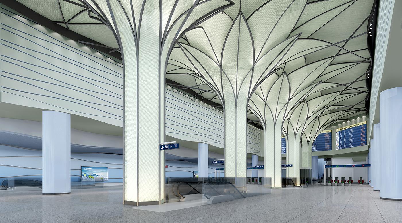 明年去新疆,就像北上廣,一到烏魯木齊國際機場可以直接坐地鐵進城了!