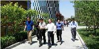 北京市規委領導和專家參觀中關村醫療器械園