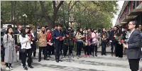 中外媒体赴河北国安创客参观采访