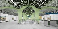 乌鲁木齐地铁1号线北段11座车站全部进入装修阶段