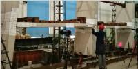 《鋼筋桁架疊合樓板應用技術規程》編制組順利完成新型鋼筋桁架疊合板系列試驗